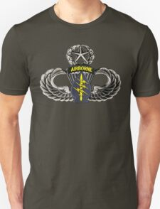 Special Forces patch on Master Jump Wings T-Shirt