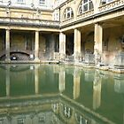Roman Baths, Bath England by Adrienne Bartl