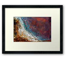 Tidal Rage Framed Print
