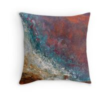 Tidal Rage Throw Pillow