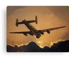 The Old Grey Lady: Avro Shackleton, 8 Squadron, 1990 Canvas Print