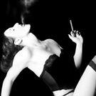 Smoke & Seduction - Self Portrait by Jaeda DeWalt