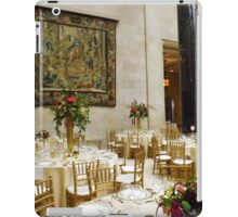 Fine Dining Area of Nelson Atkins Museum iPad Case/Skin