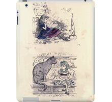 The Little Folks Painting book by George Weatherly and Kate Greenaway 0147 iPad Case/Skin