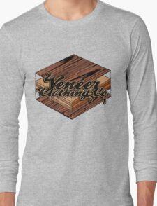 VENEER CROSS-SECTION Long Sleeve T-Shirt