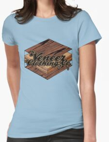 VENEER CROSS-SECTION Womens Fitted T-Shirt