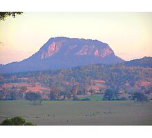 Unknown mountain. ? Photographic Print