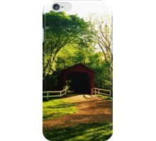 Covered Bridge iPhone Case/Skin