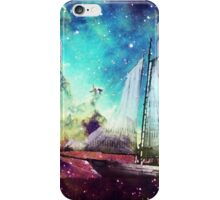 Galileo's Dream - Schooner Art By Sharon Cummings iPhone Case/Skin