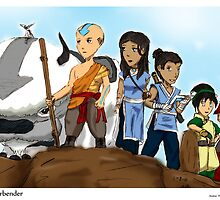 Avatar: The Last Airbender by Arcemise
