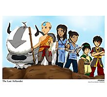 Avatar: The Last Airbender Photographic Print