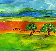 The countryside by Elizabeth Kendall