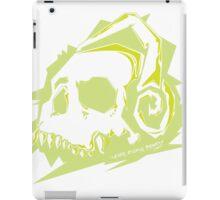 Bone Beats Green iPad Case/Skin
