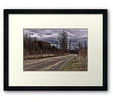 Isolation Road Framed Print