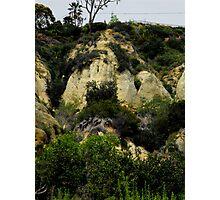 Rock Face Photographic Print