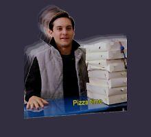 Pizza time! Mens V-Neck T-Shirt