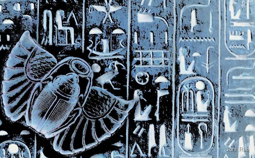 Blue Nile-Textile Design by Joni  Rae