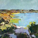 Moreton Island abstraction by Paul  Milburn
