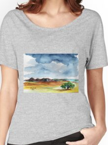*Rain Quote* (without a raincoat) Women's Relaxed Fit T-Shirt