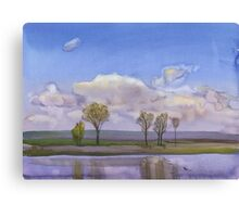 Reflection. Spring. Canvas Print