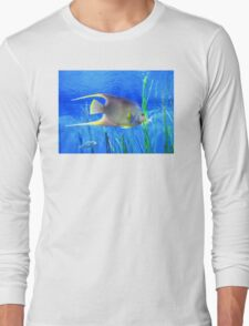 Into Blue - Tropical Fish by Sharon Cummings Long Sleeve T-Shirt
