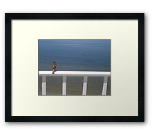 Watching for the Waves Framed Print