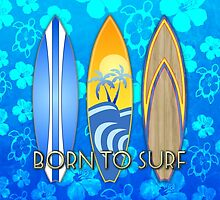 Born To Surf Honu by BailoutIsland