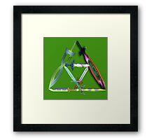 Sword Force Framed Print