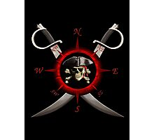 Pirate Compass Photographic Print