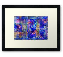 Abstract Composition #1  – April 20, 2010  Framed Print