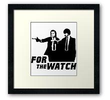 Pulp Watch Framed Print