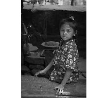 Angkor Thom girl 1 Photographic Print