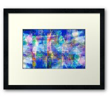 Abstract Composition #2 – April 20, 2010  Framed Print