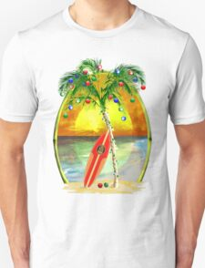 Beach Christmas T-Shirt