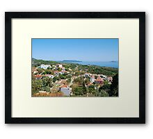 View to Patitiri, Alonissos Framed Print