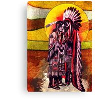 American Indians Canvas Print