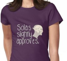 Solas Slightly Approves Womens Fitted T-Shirt