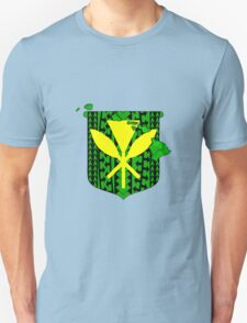 Hawaiian Tribal Coat Of Arms T-Shirt