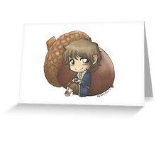 Bilbo & Acorn Greeting Card