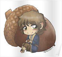 Bilbo & Acorn Poster