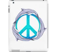Dolphin Peace iPad Case/Skin