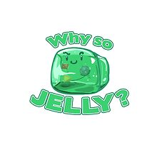 Gelatinous Cube - Why So Jelly? by whimsyworks