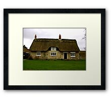Thatched Cottage - Harome Framed Print