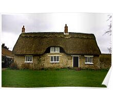 Thatched Cottage - Harome Poster