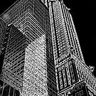 Chrysler Building Outline by miketv