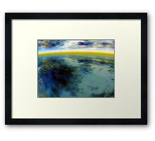 Atmospheric Reflections 2 Framed Print