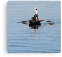 Nile fisherman 3 Canvas Print