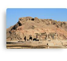 Edfu Temple 3 Canvas Print