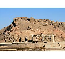 Edfu Temple 3 Photographic Print