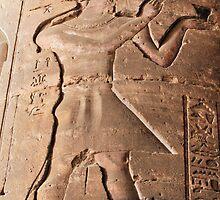 Pharaoh hieroglyph by rhallam